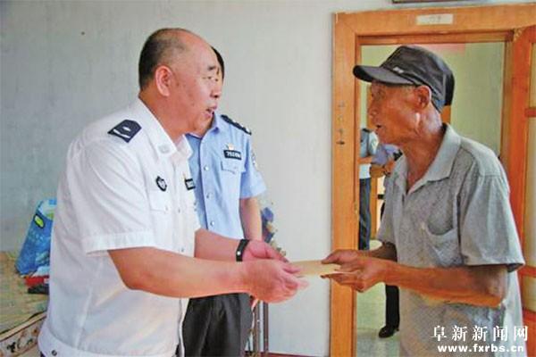 市公安局党委走访慰问困难群众