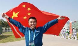 空军五项——飞行比赛:中国队夺冠