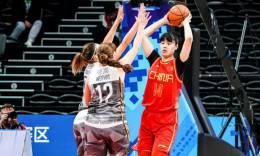 军运会女篮小组赛 中国女篮大胜德国队获两连胜