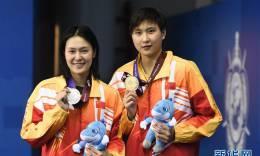 女子800米自由泳:中国队包揽冠亚军
